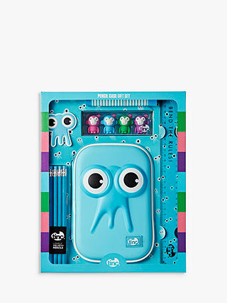 Buy Tinc Pencil Case Gift Set, Blue Online at johnlewis.com
