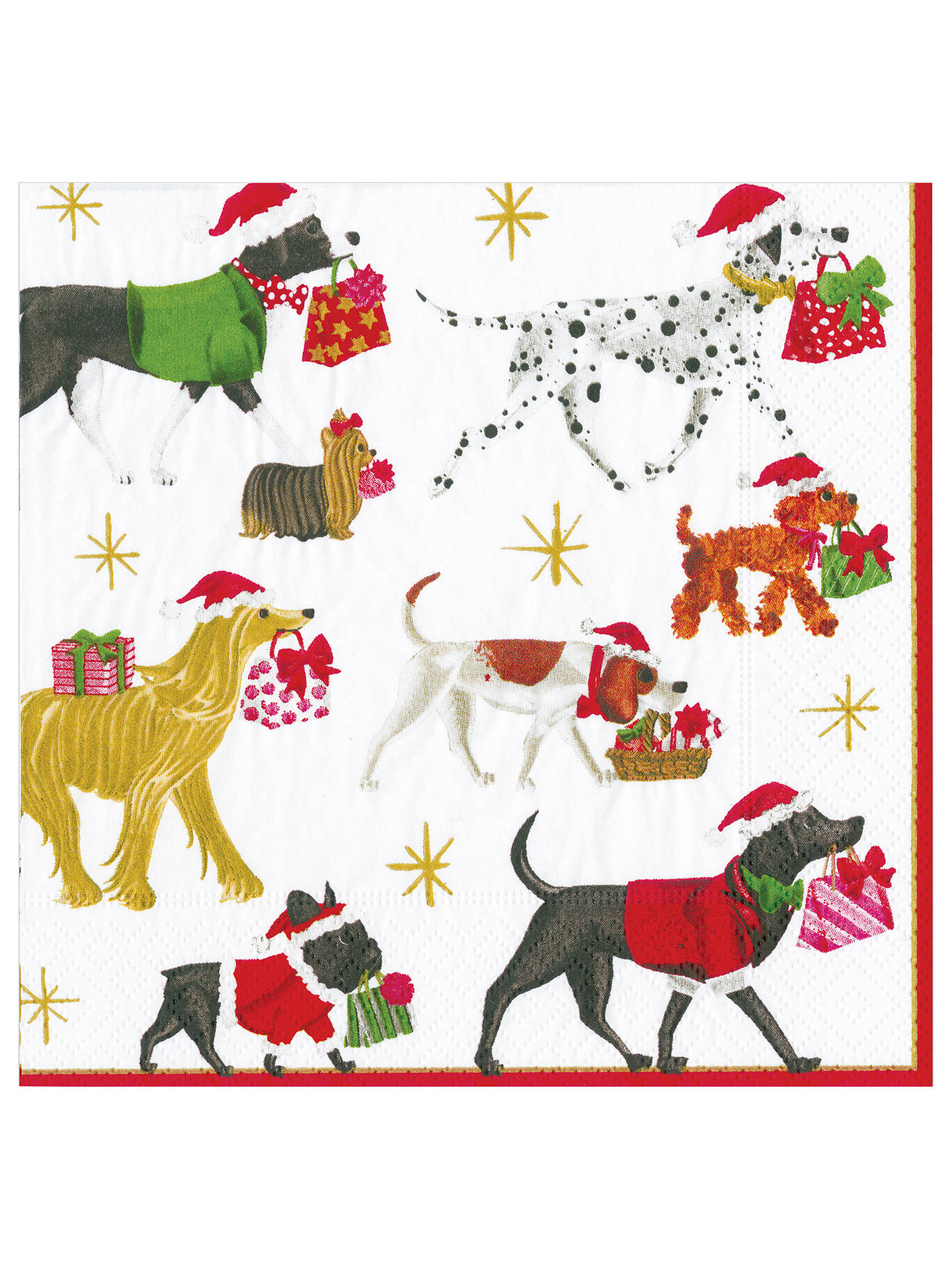 BuyCaspari Christmas Delivery Paper Napkin, Pack of 20 Online at johnlewis.com