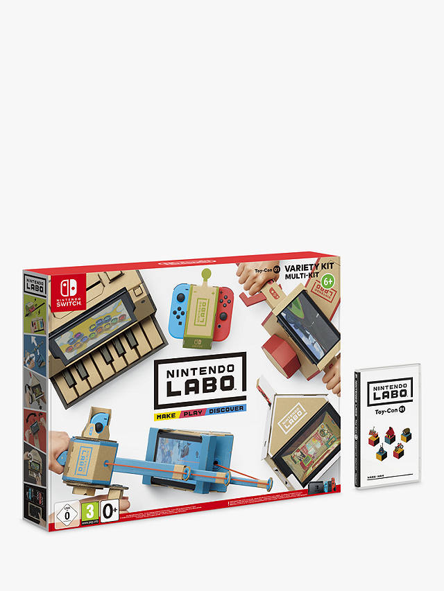Image: Nintendo Labo Variety Kit