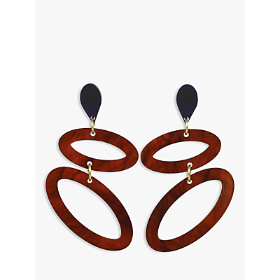 Image of Toolally Ellipses Drop Earrings