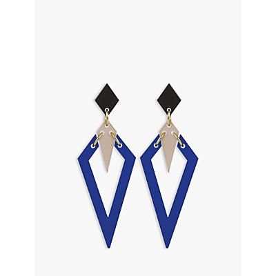 Image of Toolally Arrow Heads Drop Earrings