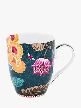 PiP Studio Floral Fantasy Porcelain Large Mug, 350ml