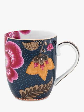 PiP Studio Floral Fantasy Porcelain Small Mug, 145ml