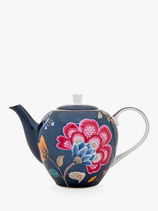 Buy PiP Studio Floral Fantasy Porcelain Small 3 Cup Teapot, 750ml, Blue Online at johnlewis.com