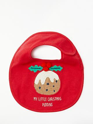 9b4007ffb John Lewis   Partners  My Little Christmas Pudding  Bib