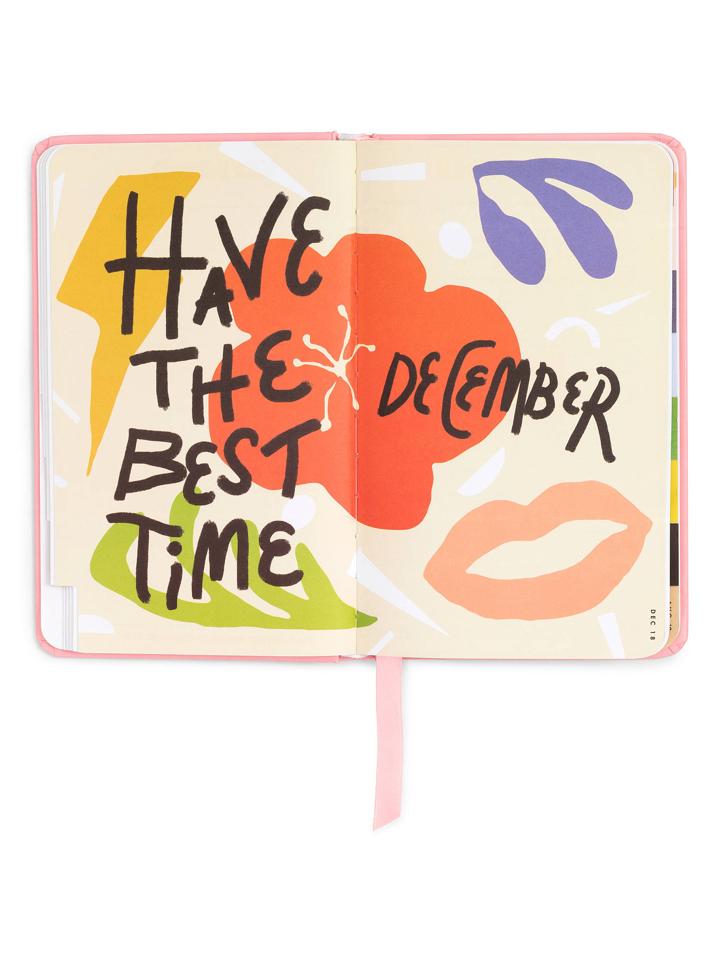 Buy ban.do Bellini Classic Yearly Planner 2019 Online at johnlewis.com