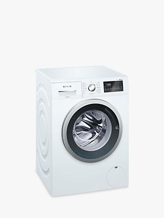 Siemens iQ300 WM14N201GB Freestanding Washing Machine, 8kg Load, A+++ Energy Rating, 1400rpm Spin, White