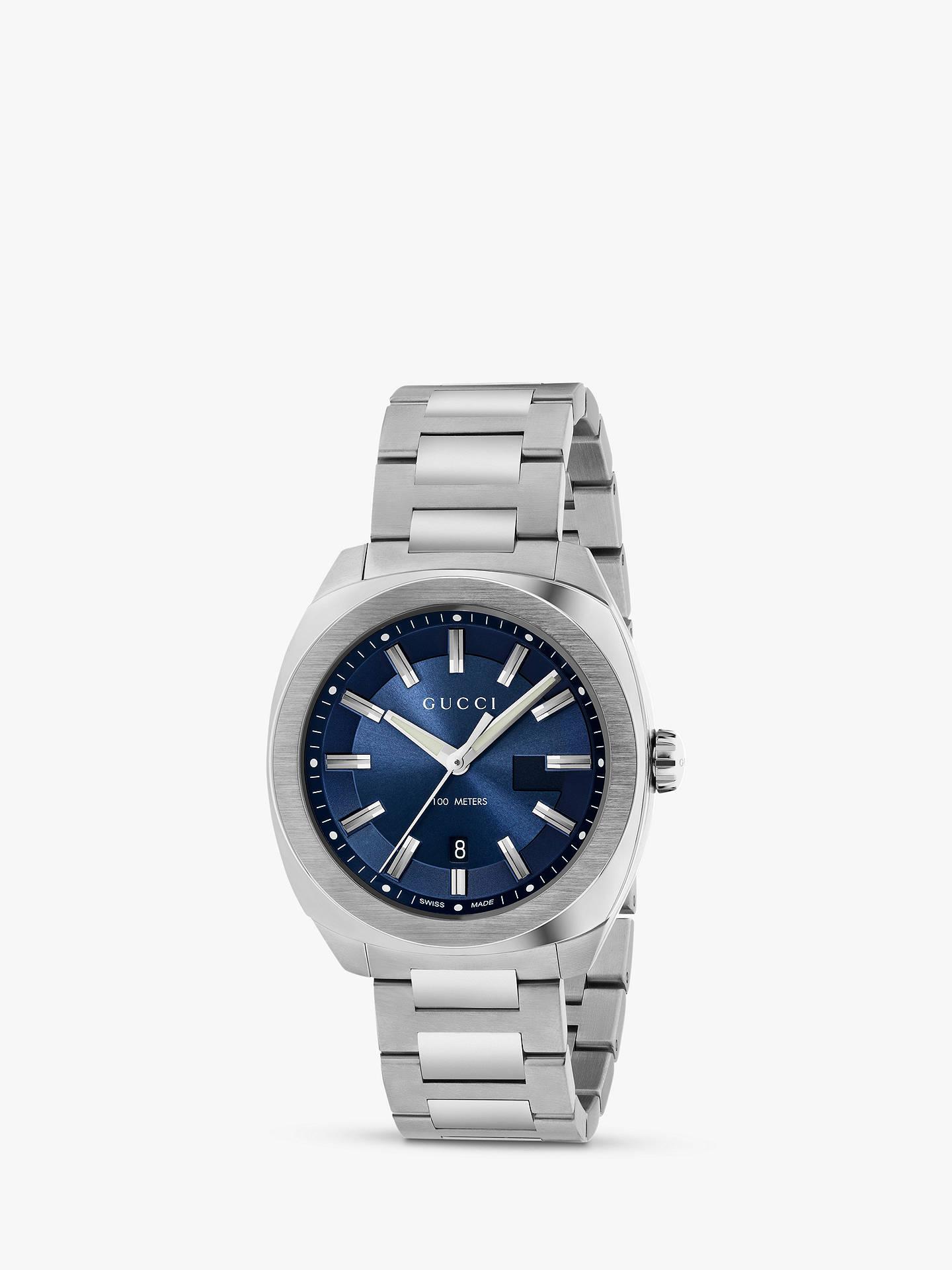 fcc61f8a093 Buy Gucci YA142303 Men s GG2570 Date Bracelet Strap Watch