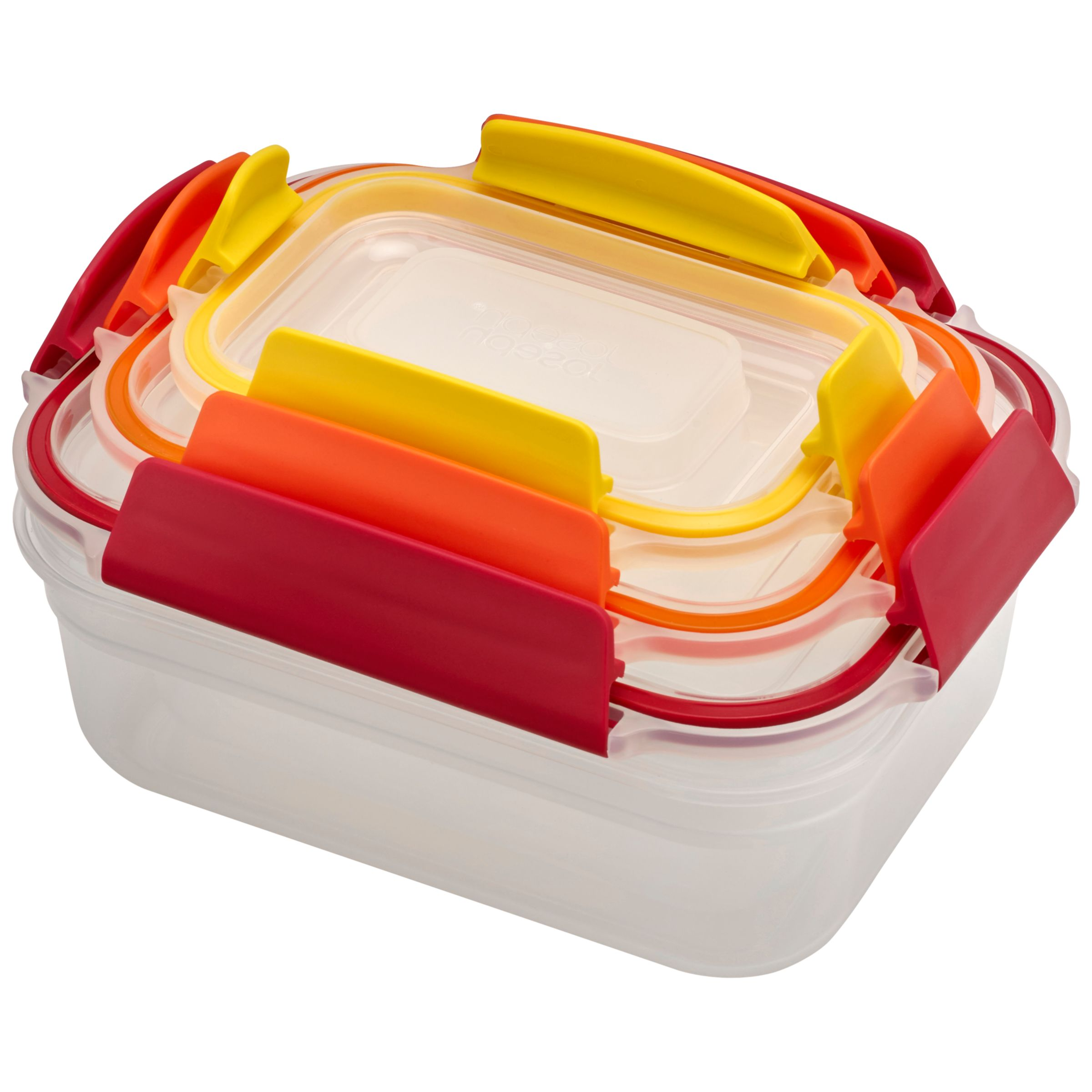 Joseph Joseph Joseph Joseph Nest Lock Airtight Storage Containers, Set of 3, Assorted