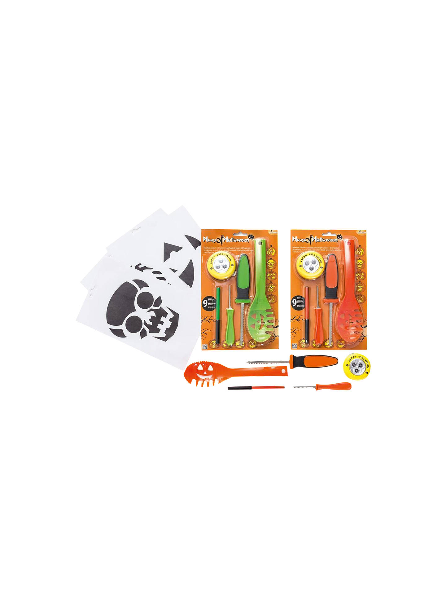 BuyPremier Decorations Deluxe Pumpkin Carving Kit Online At Johnlewis