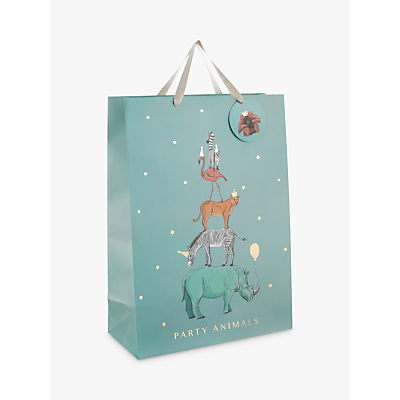 Image of John Lewis & Partners Party Safari Animals Gift Bag