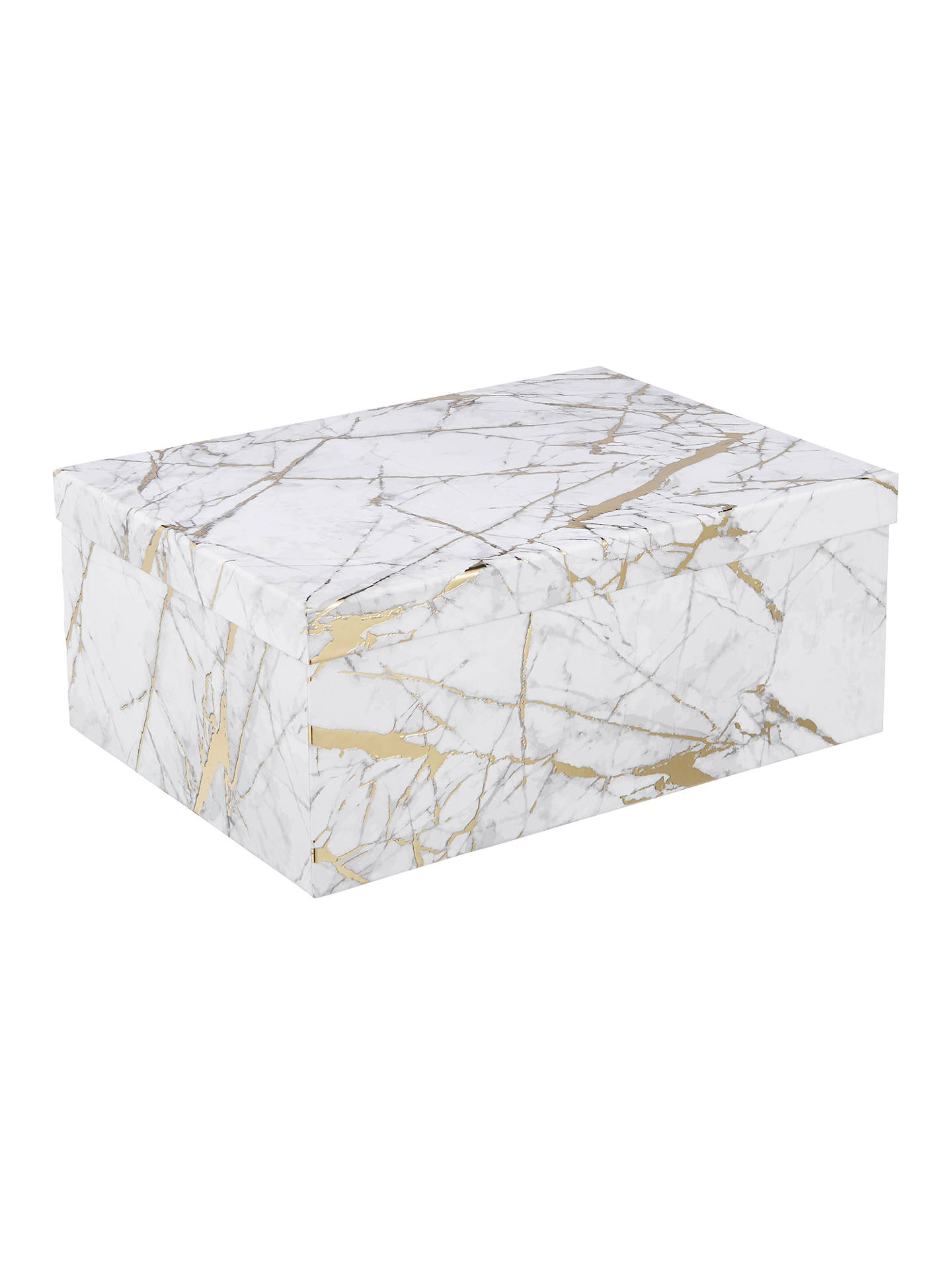 John Lewis Partners White Marble Gift Box At John Lewis Partners
