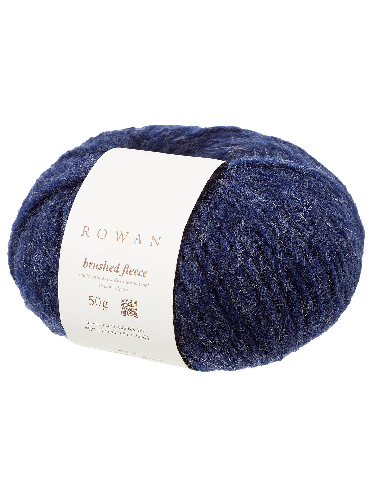 Buy Rowan Brushed Fleece Chunky Yarn, 50g, Grotto Online at johnlewis.com