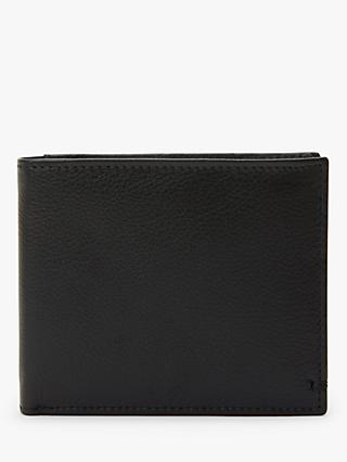 John Lewis & Partners Nappa Leather Bifold Wallet. Black