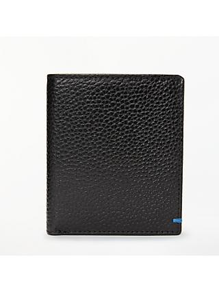 John Lewis & Partners RFID Blocking Leather Shirt Wallet, Black