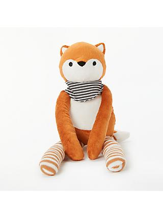 John Lewis & Partners Freddie The Fox Soft Toy