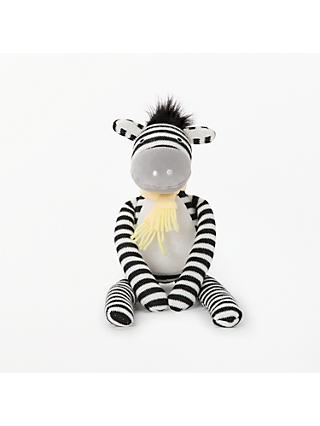 John Lewis & Partners Zana The Zebra Soft Toy