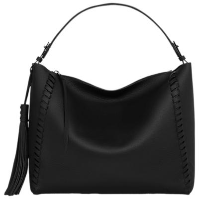 AllSaints Kepi Leather East West Shoulder Bag