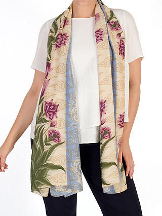 Buy Chesca Botanical Scarf, Multi Online at johnlewis.com