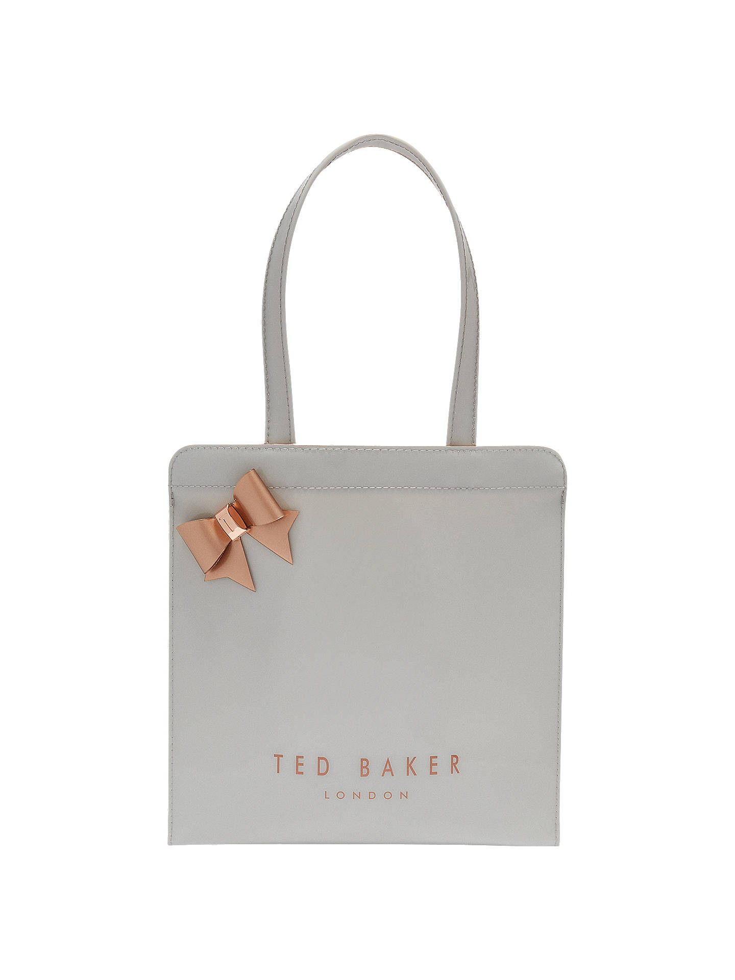 Ted Baker Cleocon Bow Small Icon Shopper Bag At John Lewis