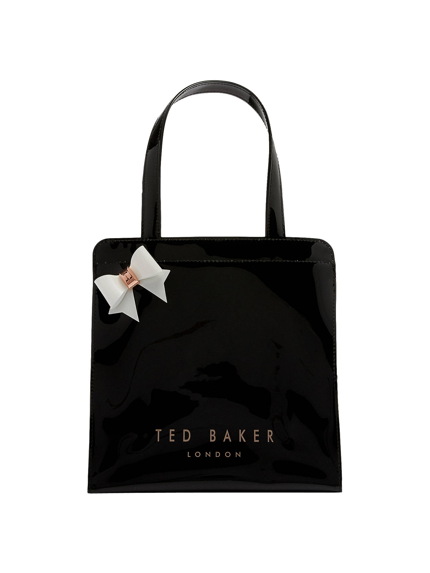 843a280f1 Ted Baker Cleocon Bow Small Icon Shopper Bag at John Lewis   Partners