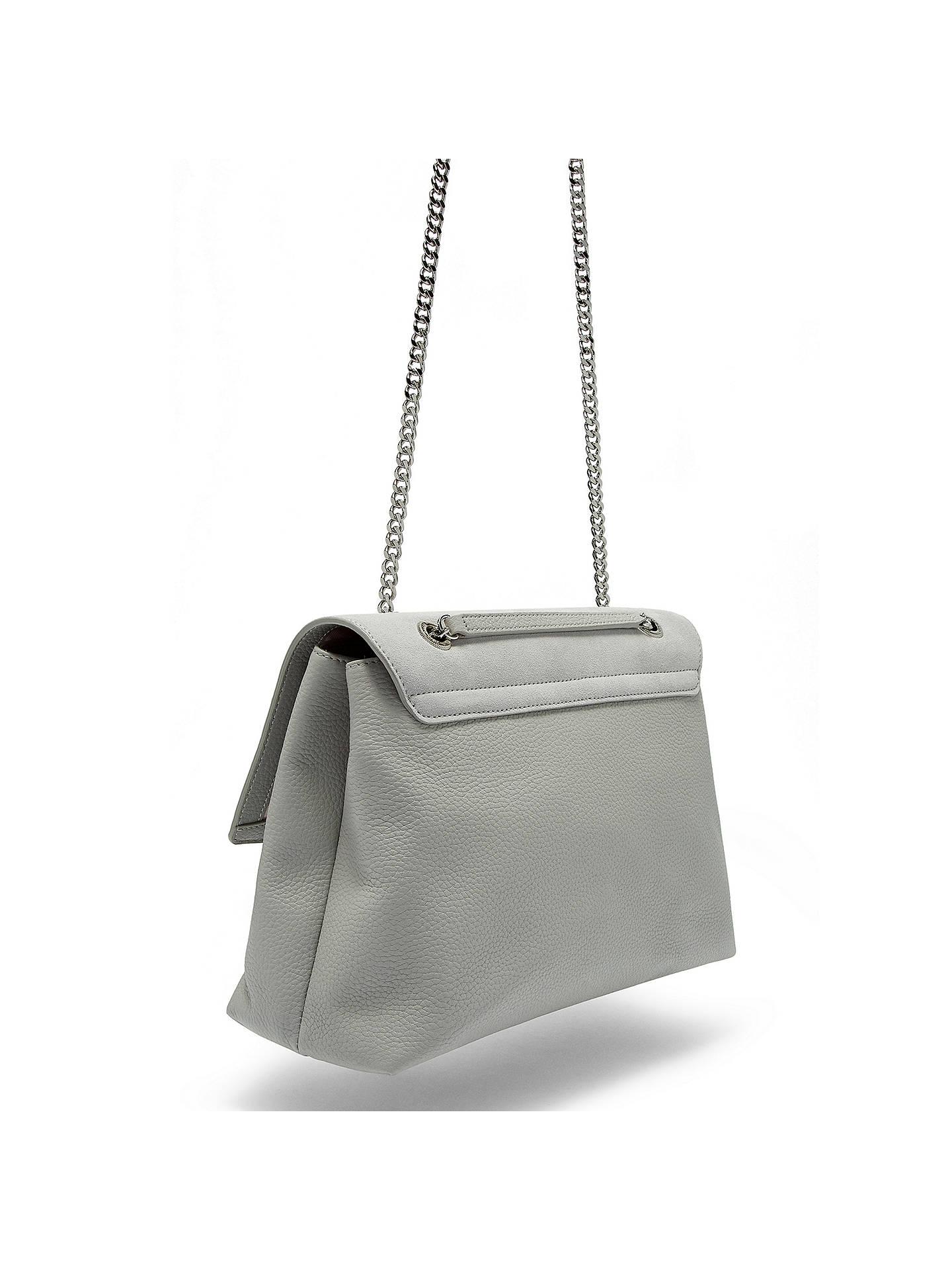 8532529b831 ... Buy Ted Baker Sophina Suede Circle Shoulder Bag, Grey Online at  johnlewis.com ...