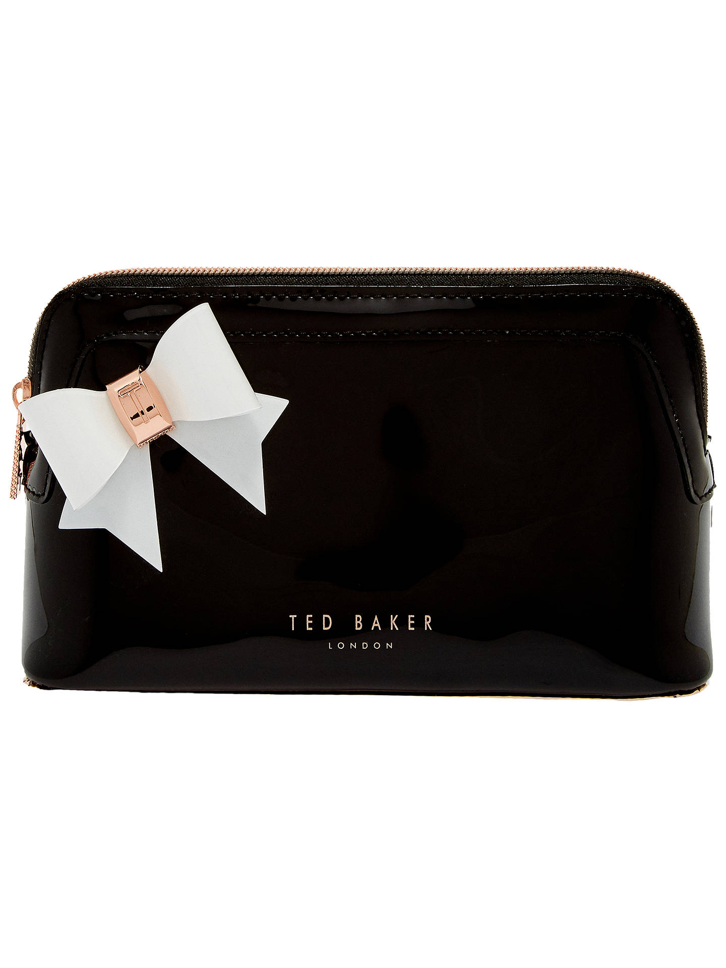 c7628075d6686 Ted Baker Aubrie Bow Makeup Bag At John Lewis Partners
