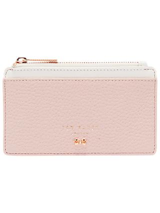bafce79732c Ted Baker Lori Leather Zipped Card Holder