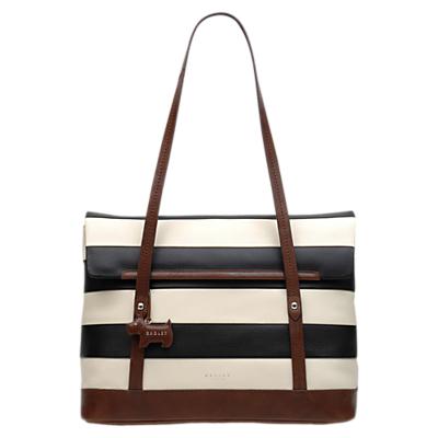 Radley Babington Stripe East West Leather Shoulder Bag, Multi