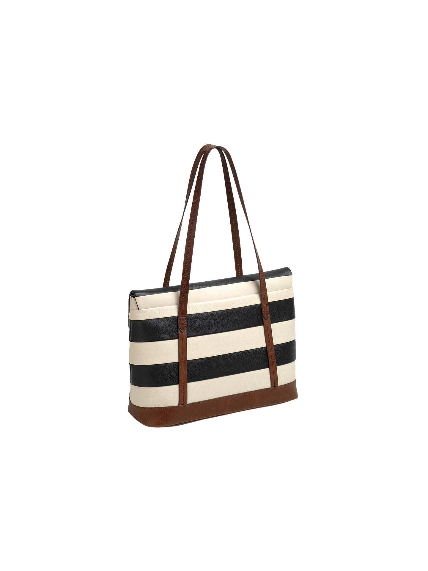 7a73af877041 ... Buy Radley Babington Stripe East West Leather Shoulder Bag