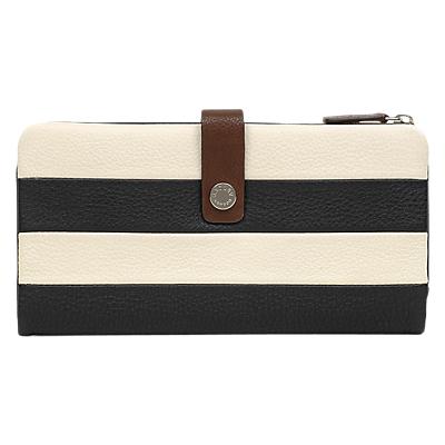 Radley Babington Stripe Leather Large Matinee Purse, Multi