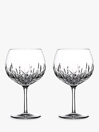 Waterford Gin Journeys Lismore Balloon Glasses, Set of 2, 550ml, Clear