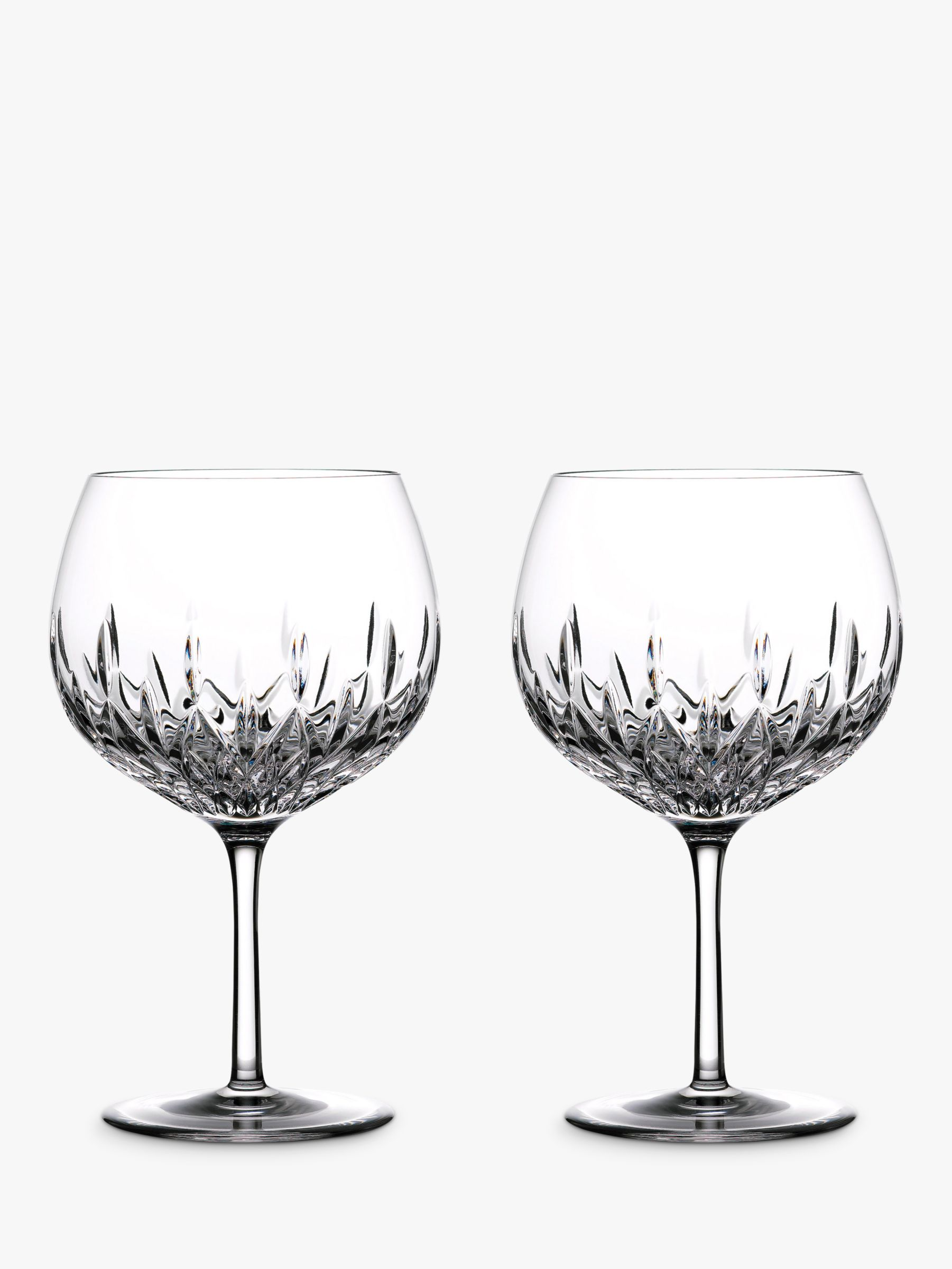 Waterford Waterford Gin Journeys Lismore Balloon Glasses, Set of 2, 550ml, Clear