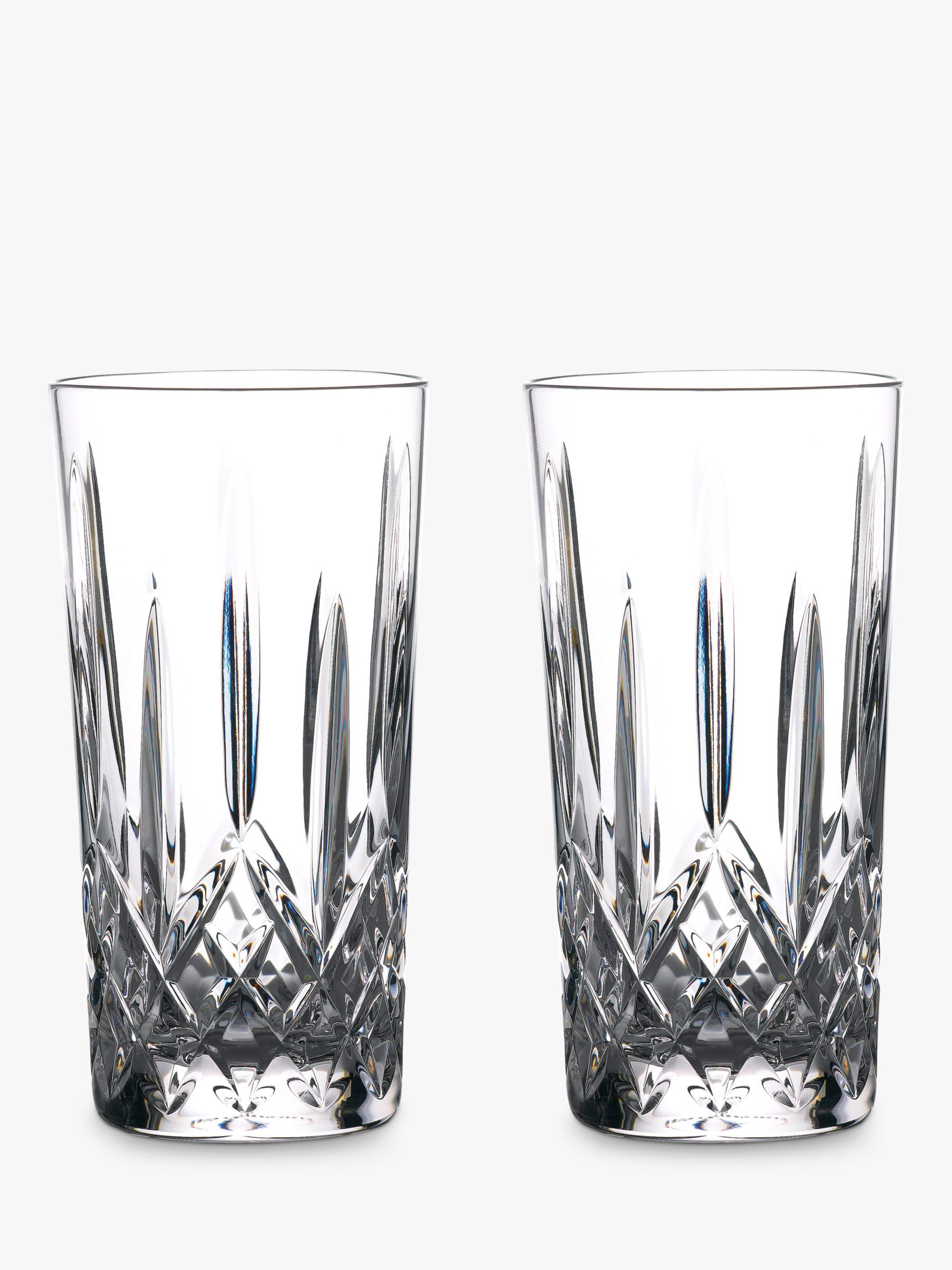 Waterford Waterford Gin Journeys Lismore Highball Glasses, Set of 2, 400ml, Clear