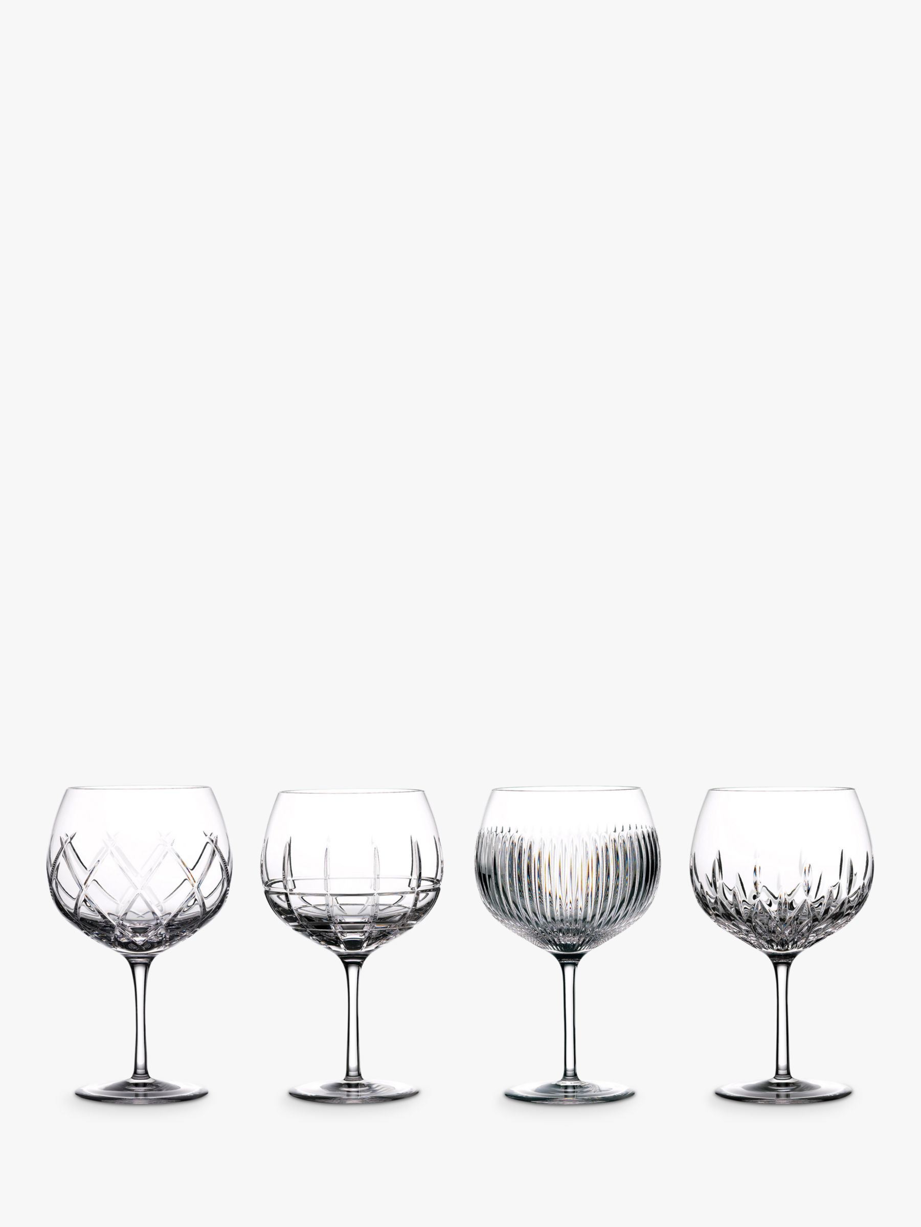 Waterford Waterford Gin Journeys Balloon Glasses, Set of 4, 550ml, Clear