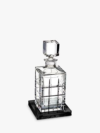 Waterford Short Stories Cluin Decanter with Marble Base, 700ml, Clear