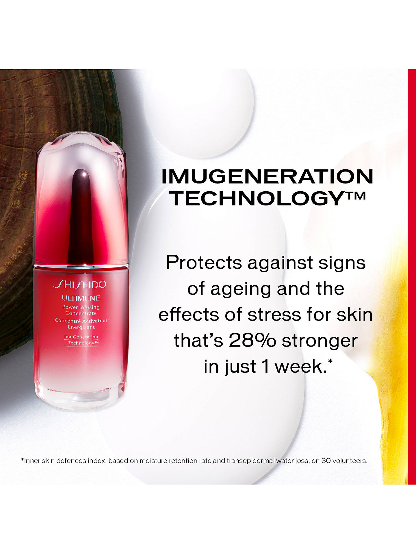 BuyShiseido Ultimune Power Infusing Concentrate Serum, 30ml Online at johnlewis.com