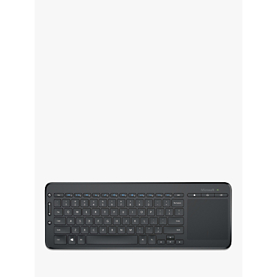 Image of Microsoft All In One Media Keyboard