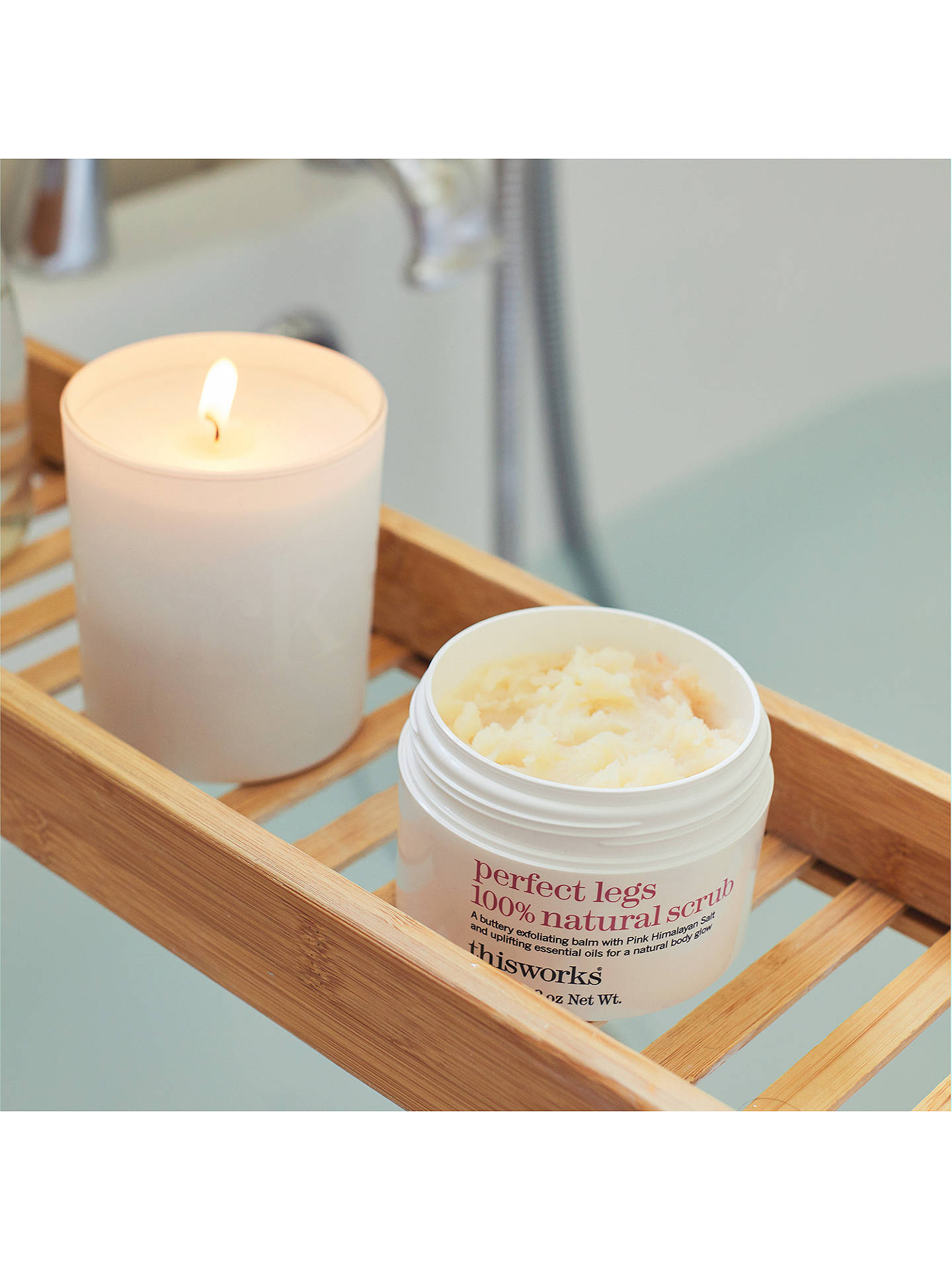 Buy This Works Perfect Legs Scrub, 200ml Online at johnlewis.com