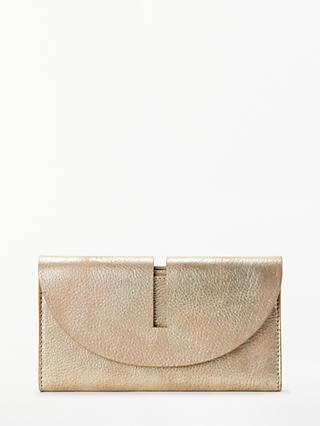 John Lewis Ara Leather Foldover Purse