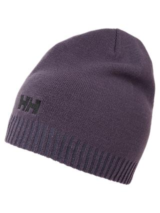 Helly Hansen Brand Beanie Hat, One Size, Grape