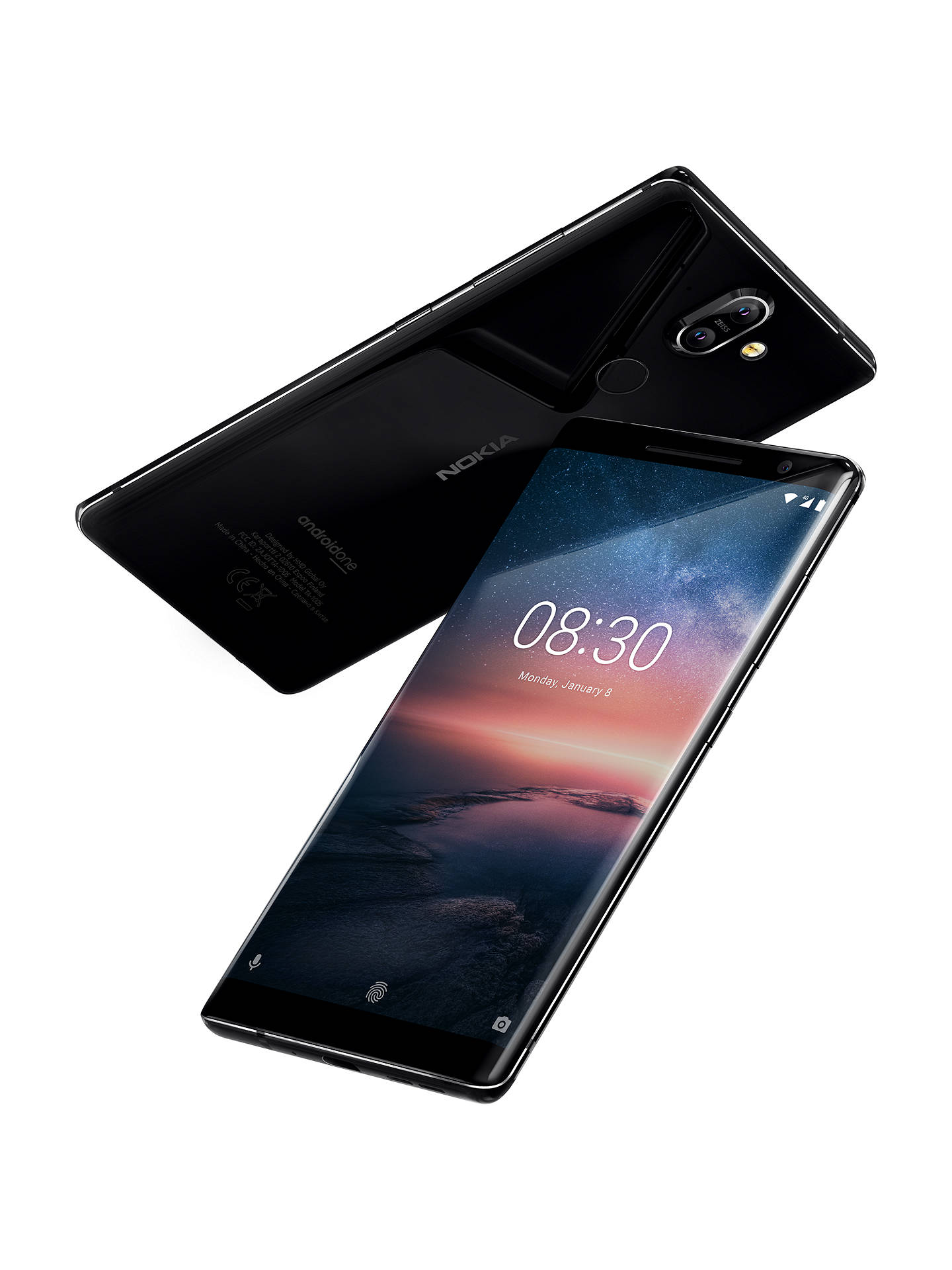 Nokia 8 Sirocco Smartphone Android 55 4g Lte Sim Free 128gb