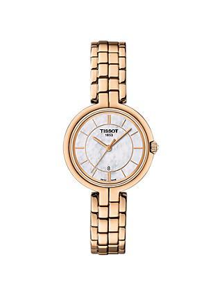 Tissot T0942103311101 Women s Flamingo Date Bracelet Strap Watch 01128a904