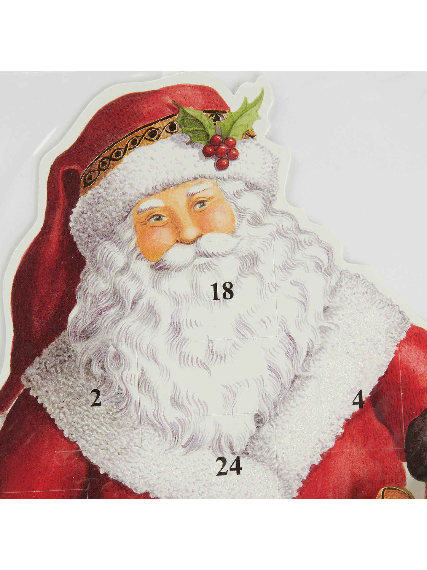 BuyCaspari Standing Santa 3D Advent Calendar Online at johnlewis.com
