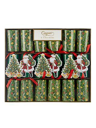 Christmas crackers buy luxury crackers at john lewis caspari lynn haney santa celebration christmas rainbow crackers pack of 6 multi solutioingenieria Gallery
