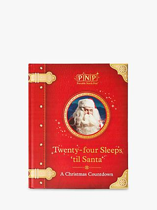 Portable North Pole 24 Sleeps 'Til Santa Christmas Story Book