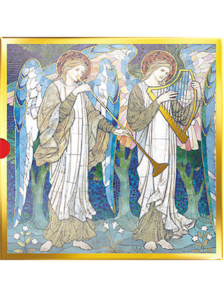 Buy The Almanac Gallery Angels & Window Christmas Cards, Pack of 16 Online at johnlewis.com