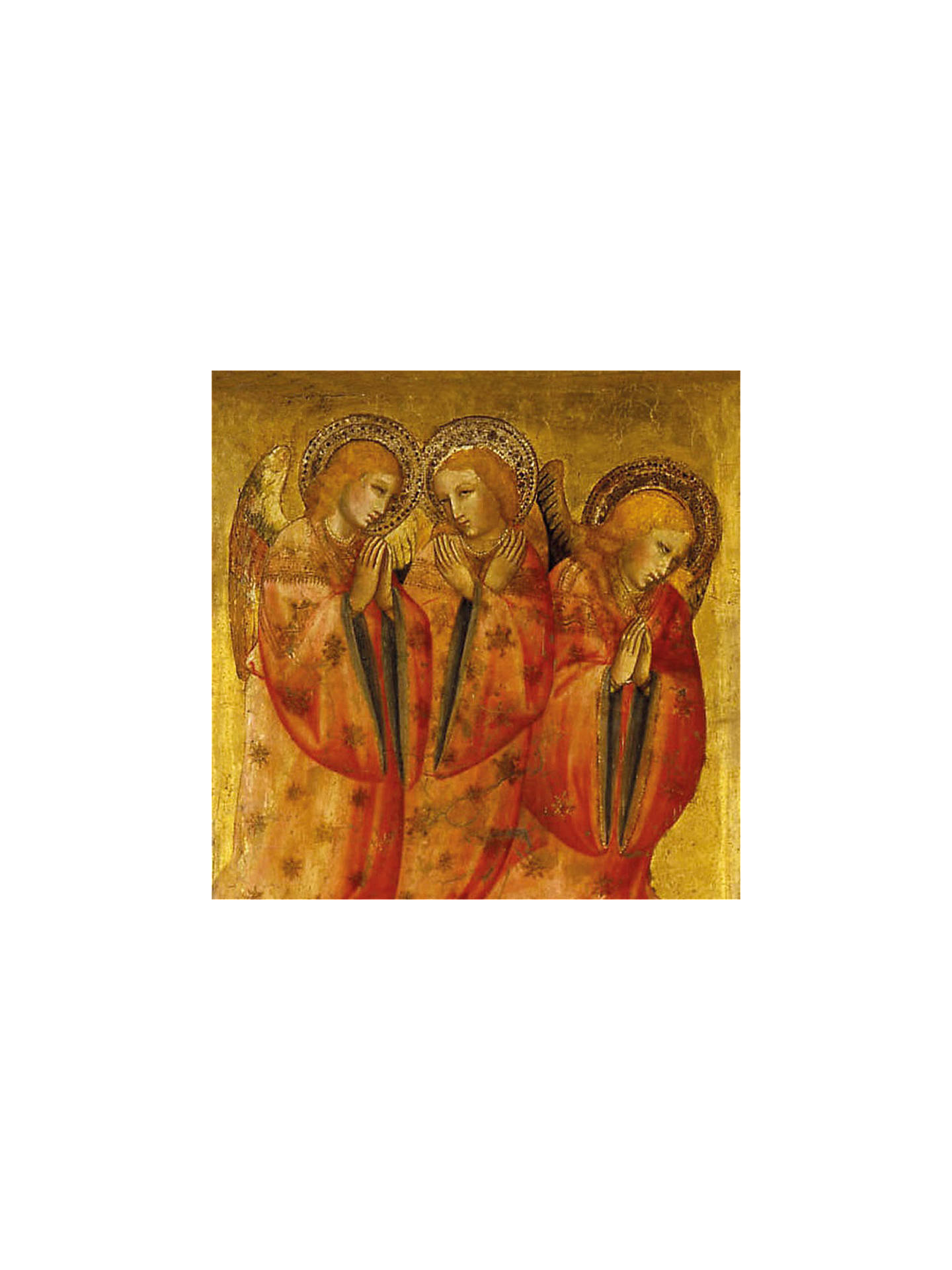 Museums & Galleries Angels Charity Christmas Cards, Pack of 8 at ...