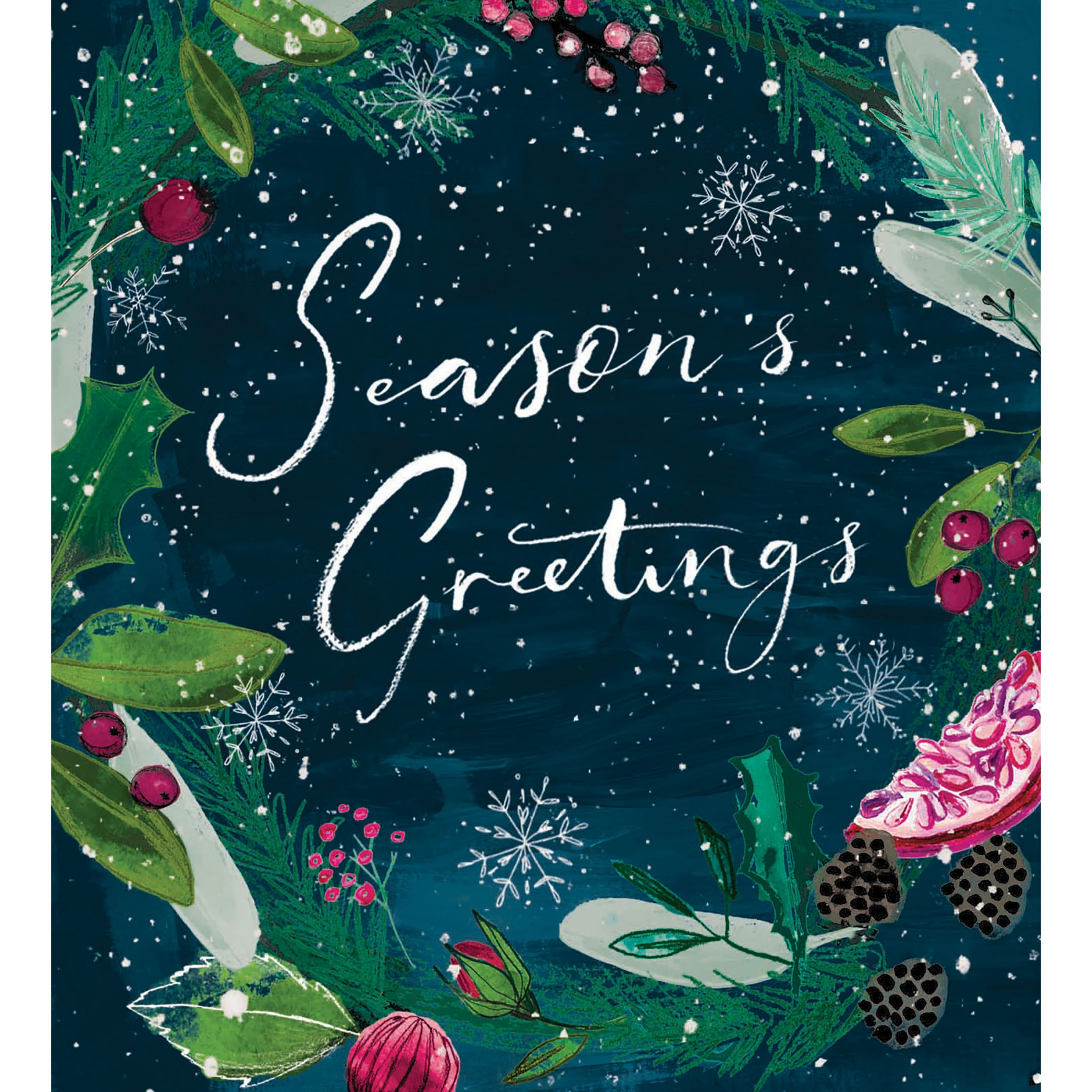 newest collection cc590 93813 Woodmansterne Season's Greetings Charity Christmas Cards, Pack of 5 at John  Lewis & Partners