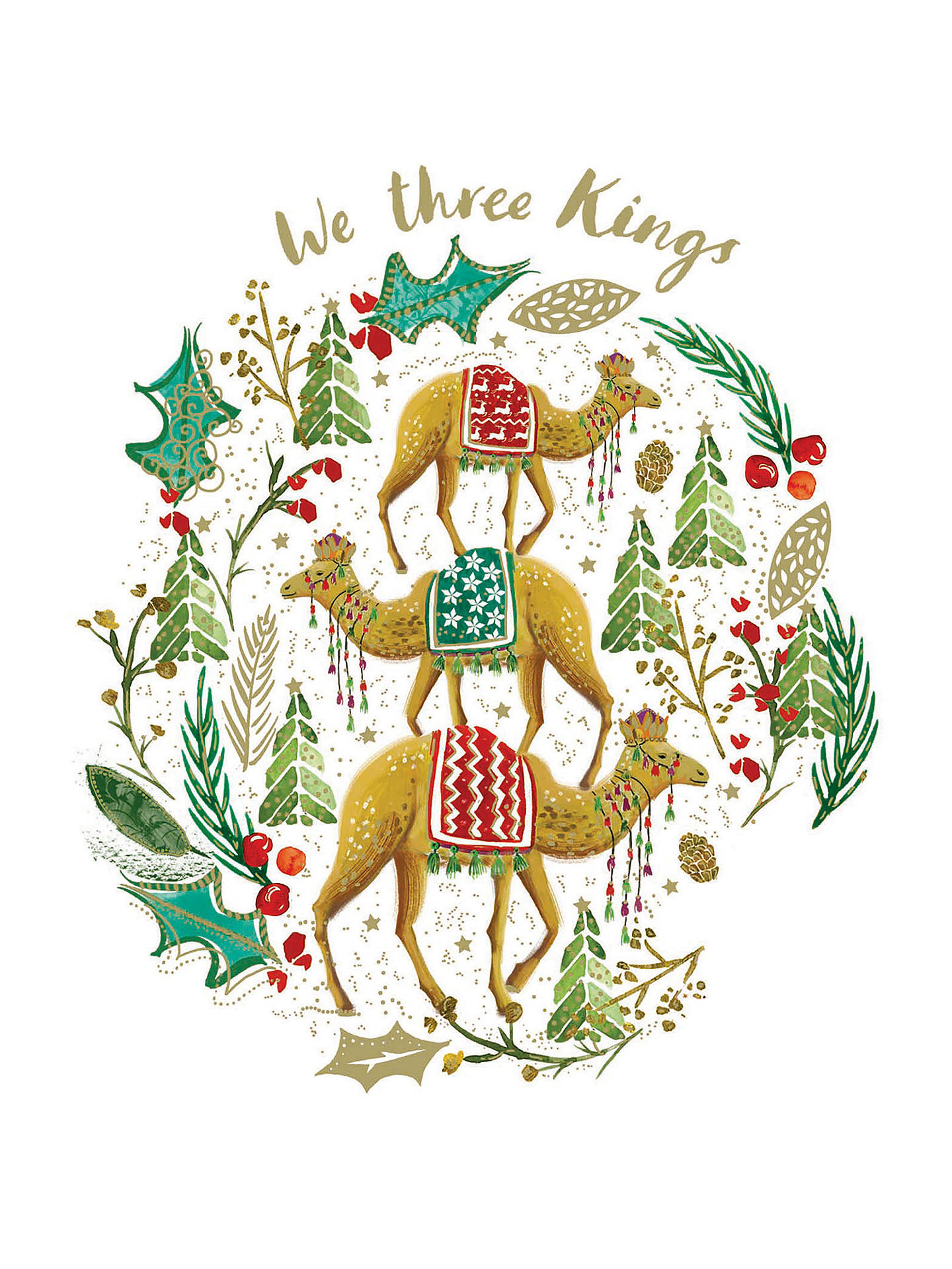 Woodmansterne Three Kings Charity Christmas Cards, Pack of 5 at John ...